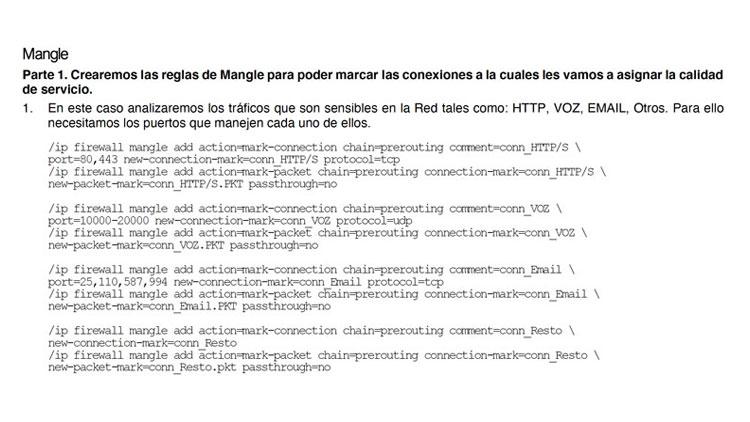 Firewall Mangle