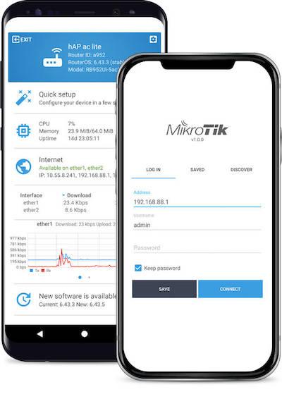 Aplicacion Movil MikroTik