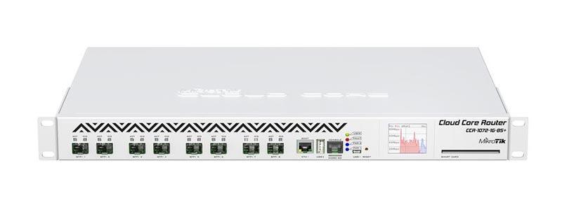 mikrotik CCR1072-1G-8S+-0 ethernet router