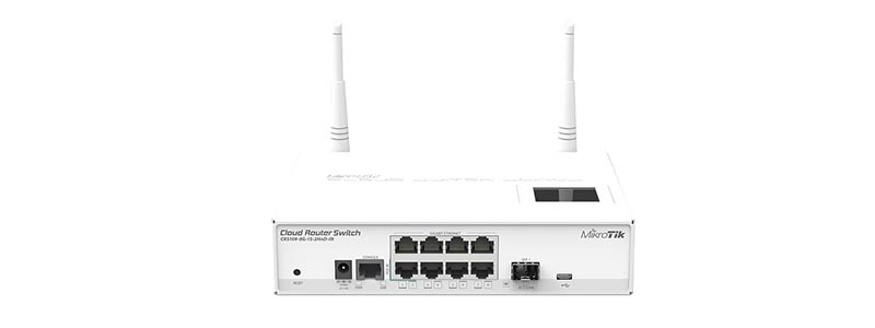 mikrotik CRS109-8G-1S-2HnD-IN-0 switches
