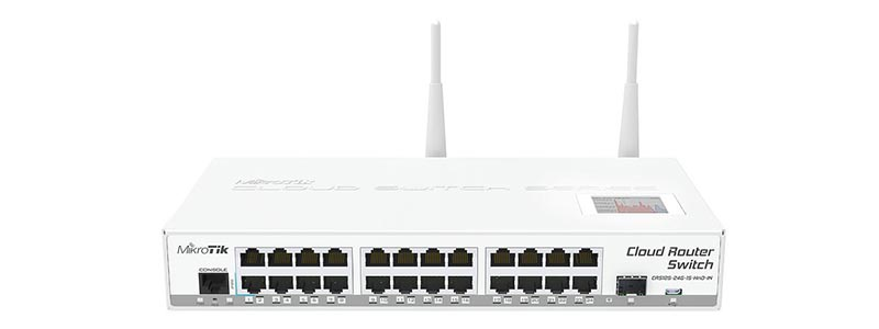 mikrotik CRS125-24G-1S-2HnD-IN-0 switches