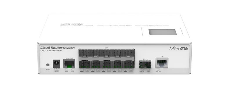 mikrotik CRS212-1G-10S-1S+IN-0 switches