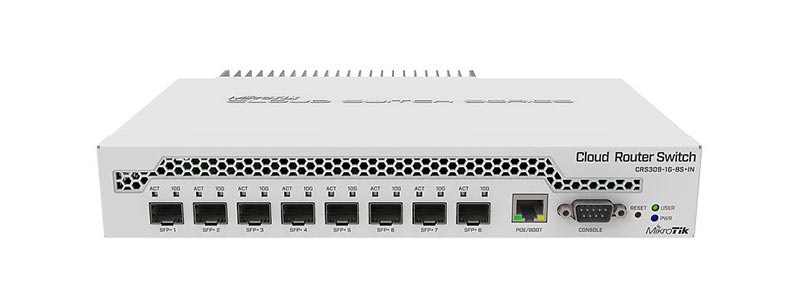 mikrotik CRS309-1G-8S+IN-0 switches
