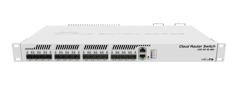 mikrotik CRS317-1G-16S+RM-0 switches