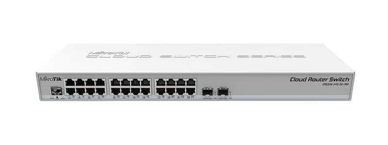 mikrotik CRS326-24G-2S+RM-0 switches