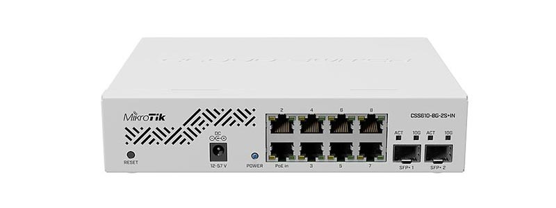 mikrotik CSS610-8G-2S+IN-0 switches