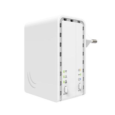 mikrotik PWR-LINE-AP-(EU-plug)-0-1 Data over Powerlines