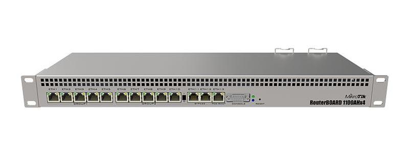 mikrotik RB1100AHx4-0 ethernet router