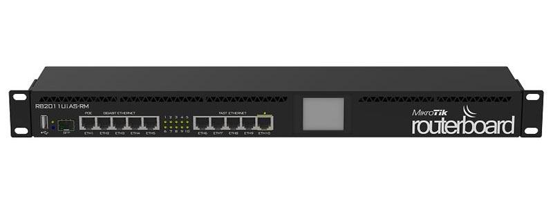 mikrotik RB2011UiAS-RM-0 ethernet router