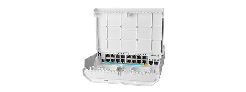 mikrotik netPower-15FR-0 switches